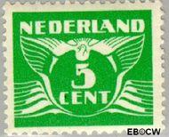 Nederland NL 380  1941 Vliegende Duif 5 cent  Gestempeld