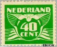Nederland NL 390  1941 Vliegende Duif 40 cent  Gestempeld