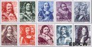Nederland NL 412#421  1943 Zeehelden   cent  Gestempeld