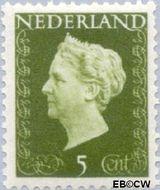 Nederland NL 474  1947 Koningin Wilhelmina- Type 'Hartz' 5 cent  Gestempeld