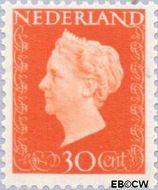 Nederland NL 484  1947 Koningin Wilhelmina- Type 'Hartz' 30 cent  Gestempeld