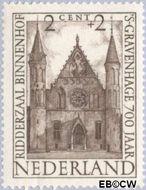 Nederland NL 500  1948 Paleizen 2+2 cent  Gestempeld