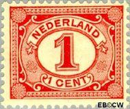Nederland NL 51  1899 Cijfer type 'Vürtheim' 1 cent  Gestempeld