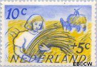 Nederland NL 516  1949 Zomermotieven 10+5 cent  Gestempeld