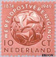 Nederland NL 542  1949 U.P.U. 10 cent  Gestempeld