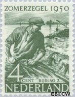 Nederland NL 551  1950 Wederopbouw 4+2 cent  Gestempeld