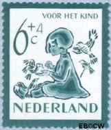 Nederland NL 565  1950 Kind en dieren 6+4 cent  Postfris