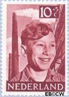 Nederland NL 576  1951 Foto's van kinderen 10+5 cent  Gestempeld