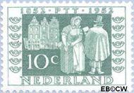 Nederland NL 590  1952 Postzegeljubileum 10 cent  Postfris