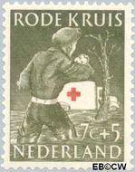Nederland NL 609  1953 Rode Kruis 7+5 cent  Gestempeld