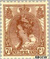 Nederland NL 61  1899 Koningin Wilhelmina- 'Bontkraag' 7½ cent  Postfris
