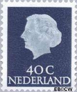 Nederland NL 627b  1971 Koningin Juliana- Type 'En Profile' 40 cent  Postfris