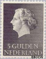 Nederland NL 639  1955 Koningin Juliana- Type 'En Profile' 500 cent  Postfris