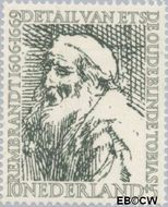 Nederland NL 674  1956 Rembrandt 10+5 cent  Gestempeld