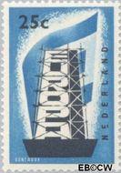 Nederland NL 682  1956 Europa in de stijgers 25 cent  Gestempeld