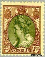 Nederland NL 70  1899 Koningin Wilhelmina- 'Bontkraag' 22½ cent  Gestempeld