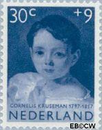 Nederland NL 706  1957 Meisjesportretten 30+9 cent  Gestempeld