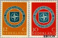 Nederland NL 720#721  1959 N.A.V.O.   cent  Gestempeld