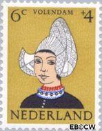 Nederland NL 748  1960 Klederdrachten 6+4 cent  Postfris
