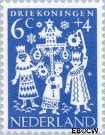 Nederland NL 760  1961 Feesten 6+4 cent  Gestempeld