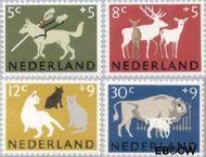Nederland NL 812#815  1964 Dieren   cent  Gestempeld