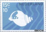 Nederland NL 878  1967 Strandvondsten 15+10 cent  Postfris
