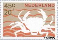 Nederland NL 881  1967 Strandvondsten 45+20 cent  Gestempeld
