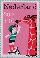 Nederland NL 896  1967 Kinderversjes 20+10 cent  Gestempeld