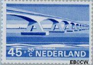 Nederland NL 905  1968 Bruggen 45+20 cent  Gestempeld