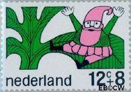 Nederland NL 912  1968 Sprookjesfiguren 12+8 cent  Gestempeld