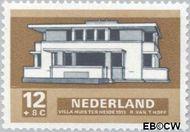 Nederland NL 920  1969 Architectuur 12+8 cent  Gestempeld