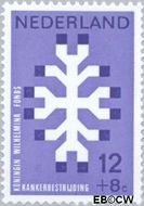 Nederland NL 927  1969 Kankerbestrijding 12+8 cent  Postfris