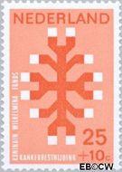 Nederland NL 928  1969 Kankerbestrijding 25+10 cent  Gestempeld