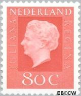 Nederland NL 950  1969 Koningin Juliana- Type 'Regina' 80 cent  Postfris