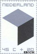 Nederland NL 982  1970 Kubus 45+20 cent  Postfris