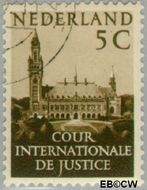 Nederland NL D30  1951 Cour Internationale de Justice 5 cent  Gestempeld