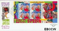 Nederland NL E288a  1991 Kinderspelen  cent  FDC zonder adres