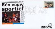 Nederland NL E383  1998 Koninklijke Hockeybond  cent  FDC zonder adres