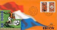 Nederland NL E415  2000 EK voetbal  cent  FDC zonder adres