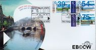 Nederland NL E441  2001 Eurozegels  cent  FDC zonder adres