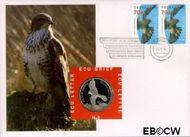 Nederland NL ECU008  1995 Roofvogels  cent  Postfris