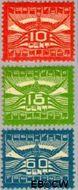 Nederland NL LP1#LP3  1921 Luchtrecht  cent  Gestempeld
