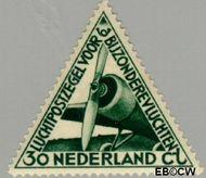 Nederland NL LP10#  1933 Bijzondere vluchten  cent  Gestempeld