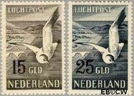 Nederland NL LP12#LP13  1951 Postpakketten  cent  Gestempeld