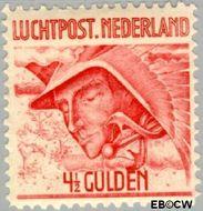 Nederland NL LP7  1929 Luchtrecht 450 cent  Gestempeld