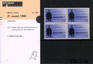 Nederland NL M134  1995 Mahlerfeest  cent  Postfris