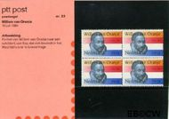 Nederland NL M22  1984 Prins Willem van Oranje  cent  Postfris