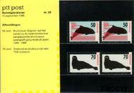 Nederland NL M32  1985 Bedreigde dieren  cent  Postfris