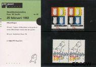 Nederland NL M92  1992 Wereldtentoonstelling- Sevilla  cent  Postfris