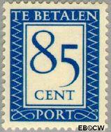 Nederland NL P102  1947 Portzegel 85 cent  Gestempeld